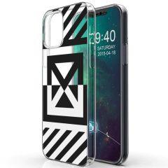 iMoshion Coque Design iPhone 12 (Pro) - Graphic - Transparent