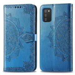 iMoshion Etui de téléphone portefeuille Mandala Samsung Galaxy A03s - Turquoise