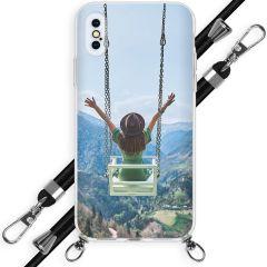 Concevez votre propre coque avec cordon iPhone Xs / X