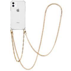 iMoshion Coque avec cordon + bracelet - Chaîne iPhone 11 - Dorée