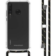 iMoshion Coque avec cordon Huawei P30 Lite - Noir Dorée