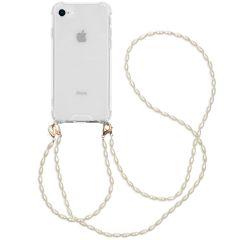 iMoshion Coque avec dragonne + bracelet - Perles iPhone SE 2020/8/7