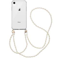 iMoshion Coque avec dragonne + bracelet - Perles iPhone Xr