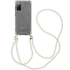 iMoshion Coque avec dragonne + bracelet - Perles Galaxy S20 FE