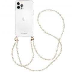 iMoshion Coque avec dragonne + bracelet - Perles iPhone 12 Pro Max