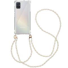 iMoshion Coque avec dragonne + bracelet - Perles Galaxy A51
