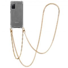 iMoshion Coque avec cordon + bracelet - Chaîne Galaxy S20 FE - Dorée