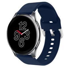 iMoshion Bracelet silicone OnePlus Watch - Bleu foncé