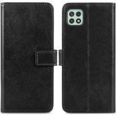iMoshion Étui de téléphone portefeuille Luxe Galaxy A22 (5G) - Noir