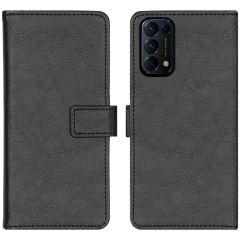 iMoshion Étui de téléphone portefeuille Luxe Oppo Find X3 Lite - Noir