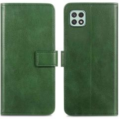 iMoshion Étui de téléphone portefeuille Luxe Galaxy A22 (5G) - Vert