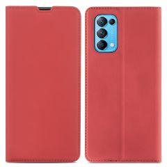 iMoshion Étui de téléphone Slim Folio Oppo Find X3 Lite - Rouge