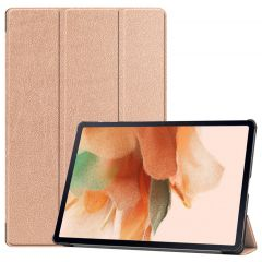 iMoshion Étui de tablette Trifold Galaxy Tab S7 Plus / Tab S7 FE 5G - Dorée