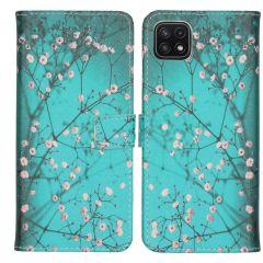 iMoshion Coque silicone design Galaxy A22 (5G) - Blossom