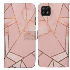 iMoshion Coque silicone design Galaxy A22 (5G) - Pink Graphic