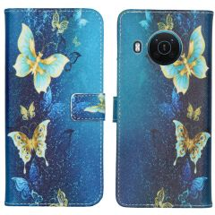 iMoshion Coque silicone design Nokia X10 / X20 - Blue Butterfly