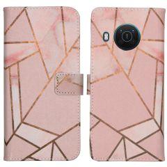 iMoshion Coque silicone design Nokia X10 / X20 - Pink Graphic