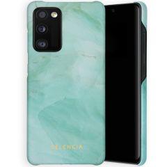 Selencia Coque Maya Fashion Samsung Galaxy A41 - Marble Green