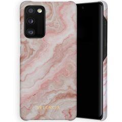 Selencia Coque Maya Fashion Samsung Galaxy A41 - Marble Rose