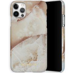 Selencia Coque Maya Fashion iPhone 12 (Pro) - Earth White