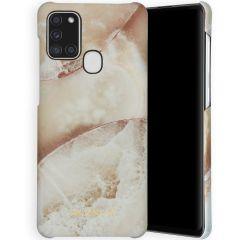 Selencia Coque Maya Fashion Samsung Galaxy A21s - Earth White