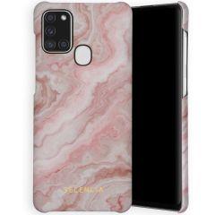 Selencia Coque Maya Fashion Samsung Galaxy A21s - Marble Rose