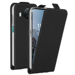 Accezz Étui à rabat Nokia X10 / X20 - Noir