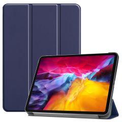 iMoshion Étui de tablette Trifold iPad Pro 11 (2018-2021) - Bleu foncé