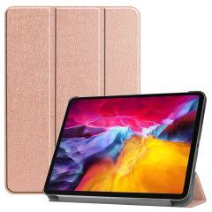 iMoshion Étui de tablette Trifold iPad Pro 11 (2018-2021) -Rose Champagne