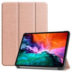 iMoshion Étui de tablette Trifold iPad Pro 12.9 (2021) - Rose