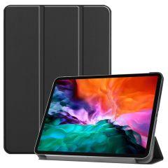 iMoshion Étui de tablette Trifold iPad Pro 12.9 (2021) - Noir