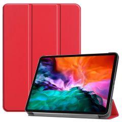 iMoshion Étui de tablette Trifold iPad Pro 12.9 (2021) - Rouge