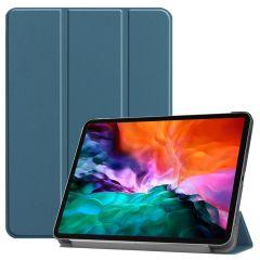 iMoshion Étui de tablette Trifold iPad Pro 12.9 (2021) - Vert foncé