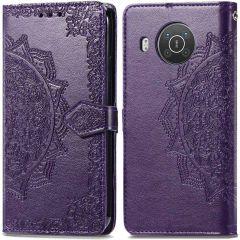 iMoshion Etui de téléphone Mandala Nokia X10 / X20 - Violet
