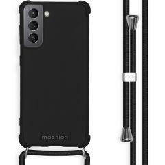 iMoshion Coque Color avec cordon Samsung Galaxy S21 - Noir
