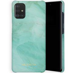 Selencia Coque Maya Fashion Samsung Galaxy A51 - Marble Green