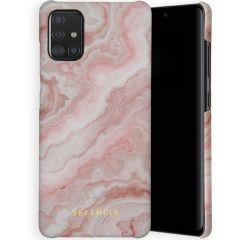 Selencia Coque Maya Fashion Samsung Galaxy A71 - Marble Rose