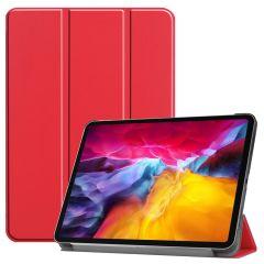 iMoshion Étui de tablette Trifold iPad Pro 11 (2018-2021) - Rouge