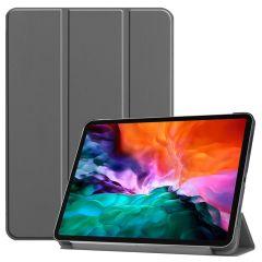 iMoshion Étui de tablette Trifold iPad Pro 12.9 (2021) - Gris