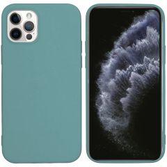 iMoshion Coque Color iPhone 12 (Pro) - Vert foncé