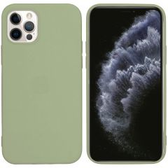 iMoshion Coque Color iPhone 12 (Pro) - Olive Green