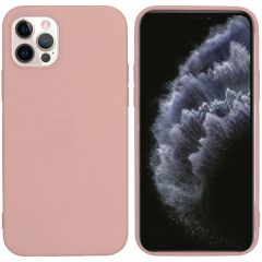 iMoshion Coque Color iPhone 12 (Pro) - Dusty Pink