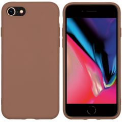 iMoshion Coque Color iPhone SE (2020) / 8 / 7 - Taupe