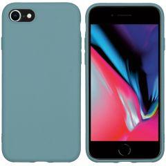 iMoshion Coque Color iPhone SE (2020) / 8 / 7 - Vert foncé