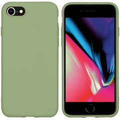 iMoshion Coque Color iPhone SE (2020) / 8 / 7 - Olive Green