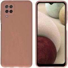 iMoshion Coque Color Samsung Galaxy A12 - Taupe