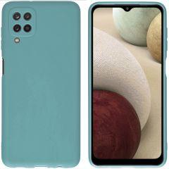 iMoshion Coque Color Samsung Galaxy A12 - Vert foncé