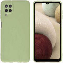 iMoshion Coque Color Samsung Galaxy A12 - Olive Green