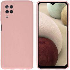 iMoshion Coque Color Samsung Galaxy A12 - Dusty Pink