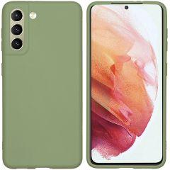 iMoshion Coque Color Samsung Galaxy S21 - Olive Green